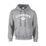 Hoodie Cowboys Football Weiss