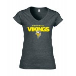 Ladies-Shirt Vikings Football Gelb